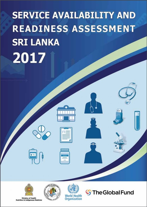 Service Availability and Readiness Assessment Sri Lanka 2017,SARA Sri Lanka,SARA,SARA Sri ,SARA 2017,Health service availability